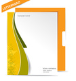 Business style templates vector image vector image
