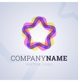 Company logo template vector image