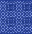 elegant classic quatrefoil elements on a striking vector image vector image