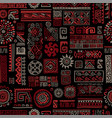 ethnic handmade ornament seamless pattern vector image vector image