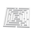 Labyrinth vector image vector image