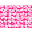 love seamless background with straight smooth pink vector image
