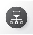 network icon symbol premium quality isolated vector image vector image