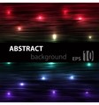 Abstract striped glowing horisontal background vector image