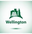Beehive - the symbol of Wellington New Zeland vector image vector image