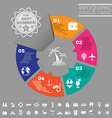 Colorful Infographics Diagram Summer Design