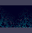 dark blue cover with spots vector image