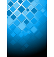 Hi-tech blue background vector image vector image
