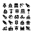 Transport Icons 5 vector image vector image