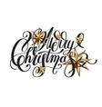 golden stars and handwritten lettering vector image