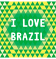 I lOVE BRAZIL2 vector image