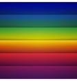 Abstract rainbow rectangle shapes background vector image