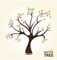 abstract summer tree vector image vector image