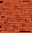 bricks wall pattern background vector image