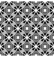 Monochrome seamless pattern Geometric simple vector image vector image