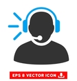 Operator Message Eps Icon vector image vector image
