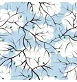 Pattern of sprigs vector image vector image