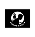 POW MIA Flag vector image vector image