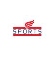 sport-logo vector image vector image