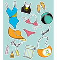 Summer Beachwear vector image vector image