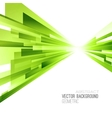 Abstract color lines poster vector image vector image