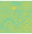 Abstract seamless texture with fish hearts flowers vector image vector image