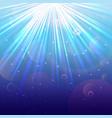 Blue Lights background vector image