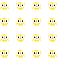 chick wallpaper vector image vector image