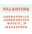 cookie hand drawn decorative font cartoon sweet vector image vector image
