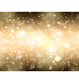 golden snowflake background 1908 vector image vector image