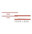 Logo 3 vector image vector image