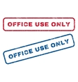 Office Use Only Rubber Stamps vector image vector image