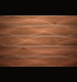 realistic wooden timber background texture vector image