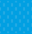 sharpener pattern seamless blue vector image vector image