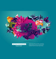 creative trendy background abstract 3d object vector image vector image