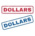 Dollars Rubber Stamps vector image vector image