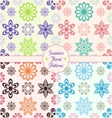 Floral backround vector image vector image