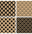 graphic patterns set vector image vector image