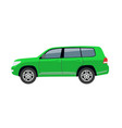hatchback car body toy auto vector image