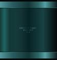 realistic green metallic metal background vector image