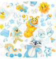 seamless pattern clothing toy and stuff its a vector image