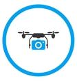 Aircraft Camera Icon vector image vector image