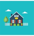 house home vector image
