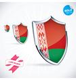 I Love Belarus Flag vector image vector image