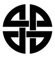 Knot shield symbol of protection ancient symbol