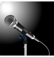 Microphone cord vector image vector image