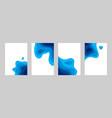 paper cut sea posters 3d ocean banners vector image