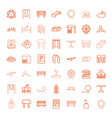 park icons vector image vector image