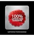 Satisfaction app icon vector image