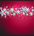 stars shine banner vector image vector image